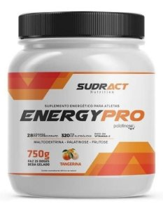 Pré E Intra Treino Energy Pro Energetico - 750g Sudract