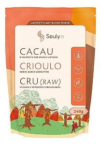 Cacau Crioulo Cru Em Pó 240g - Souly