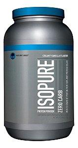 Whey Protein Isopure Zero Carbo 1.361g Natures Best