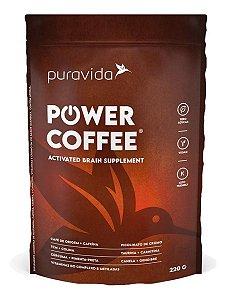 Power Coffee Activated Brain Tcm Coco Cream Café Pura Vida