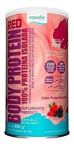 Novo Body Protein Red Frutas Vermelhas Equaliv 600g