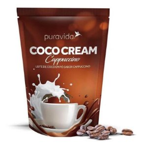 Coco Cream Leite De Coco Cappuccino 250g Puravida Pura Vida