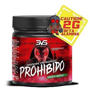 Pré Treino Prohibido 180g 3vs Nutrition Suplemento Beta