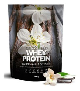 Whey Protein Grassfed 900g Grama Vanilla Do Tahiti Puravida