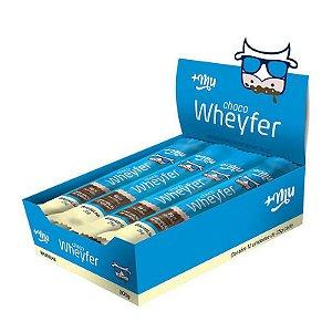 12 Choco Wheyfer Wafer - Mais Mu Sabores