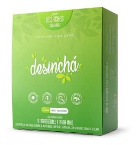 Chá Desinchá 60 Saches - Original Desincha