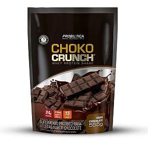 Choko Crunch Probiótica Shake Proteico De Whey 555g Sabores