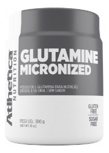 Glutamina Micronizada 300g - Atlhetica Nutrition