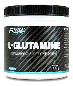 Glutamina Pura Aminoácido 300g  Fit Fast Qualidade
