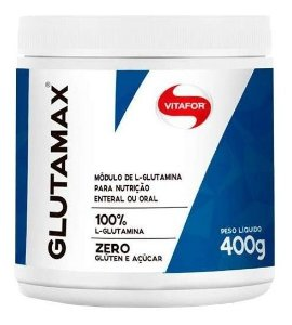 Glutamax - 400g - 100% Glutamina - Vitafor