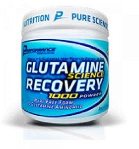 Glutamina Recovery 300g - Performance Nutrition - Gluta Pura