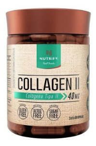 Collagen Ii 40mg - Colágeno Tipo 2 (60 Caps) - Nutrify