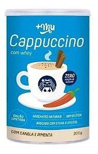 Cappuccino Com Whey Canela E Pimenta Mais Mu 200g