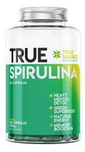 Spirulina 450mg (120 Caps) - True Source Espirulina