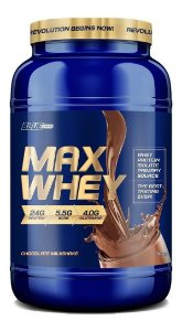 Max Whey Isolado E Concentrado 907g - Blue Series