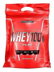 Whey 100% Pure Refil 907g Integral Medica Envio Rapido