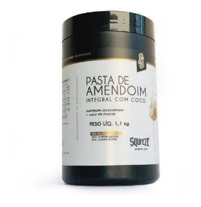 Pasta De Amendoim Squeeze Integral Com Coco - 1,1kg