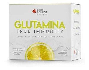 Glutamina Saborizada Sachês True Immunity - True Source