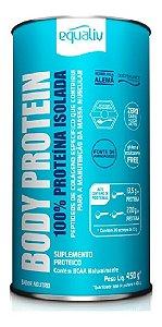Body Protein Equaliv 450g 100% Proteína Isolada Whey
