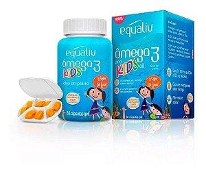 Equaliv Ômega 3 Pro Kids 60 Cápsulas Mastigáveis Óleo Pe