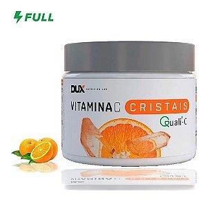 Vitamina C Crystals 200g Matéria Prima Importada - Dux