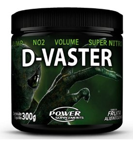 D-vaster 300g ( Pre Treino ) - Power Supplements Dvaster