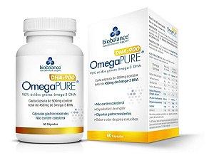 Omega Pure Dha 900 (60 Capsulas) - Omega Pure Biobalance
