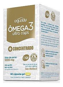 Equaliv Omega 3 Hc Ultra Caps + Concentrado 60 Cáps