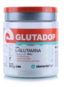 Glutamina Top Glutadop 300g Elemento Puro