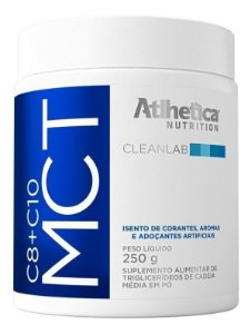 Mct 3 Gliceril M Pó (250g) Original Atlhetica Nutrition
