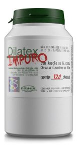 Dilatex Impuro 120 Caps - Nova Fórmula - Original Com Nota