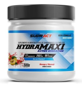 Isotônico Em Pó Isotonic Hydramaxi Sudract Pote 500g