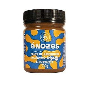 Pasta De Amendoim 210g Enozes Pasta É Nozes Chocolate Belga