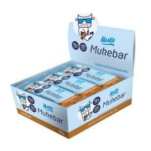 Mais Mu Muke Bar Display 12 Un. - Barra De Proteína Muke +mu