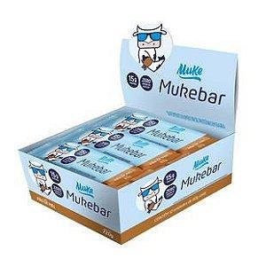 Mais Mu Muke Bar Display 12 Un. - Barra De Proteína Muke +mu