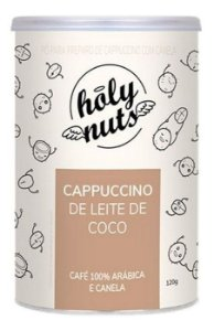 Cappuccino De Leite De Coco 120g - Holy Nuts | Mais Mu