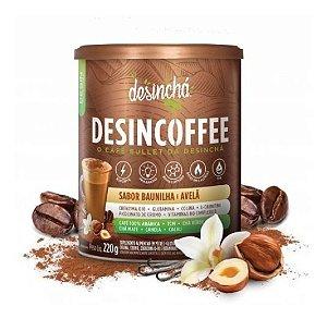 Desincoffee Sabor Baunilha E Avelã Termogenico 220g Desincha