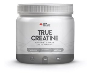 True Creatina Creatine 300g Com Selo Creapure True Source