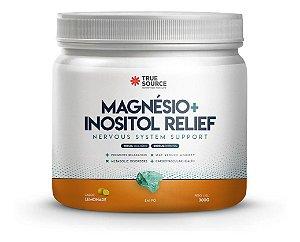 True Source Magnésio Inositol Relief Relax Limão 300g True