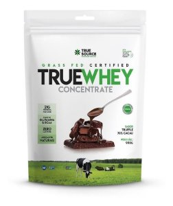 True Source True Whey Concentrado Refil 900g Sem Lactose