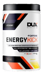 Energy Kick Caffeine - Pote 1000g Dux Nutrition Com Cafeina