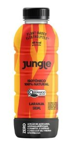 Jungle Isotônico Orgânico Sabor Laranja - Jungle 500ml