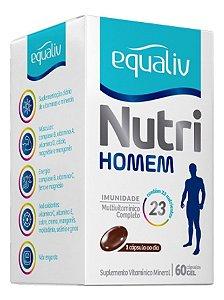 Equaliv Nutri Homem 60 Cáps Polivitamínico C/ Chromo