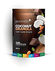 Puravida Granola Coconut Dark Chocolate 180g  Low Carb