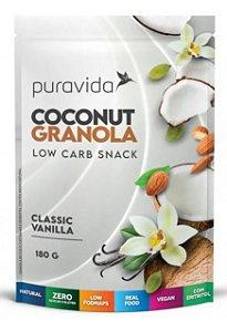 Puravida  Granola Zero Coconut Classic Vanilla 180g
