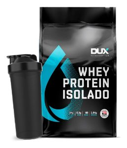 Whey Protein Isolado Refil - 1800g - Dux Nutrition