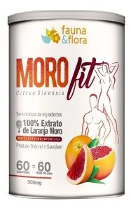Morofit Extrato Laranja Morosil Original 500mg - 60caps