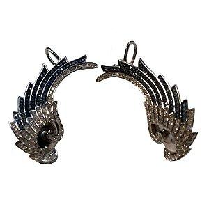 Brinco Prata Ear Cuff Vd 335