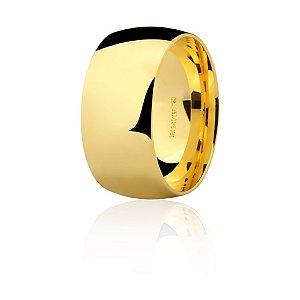 Aliança Ouro Amarelo 18k Tradicional e Larga Ref 75.0313.2000