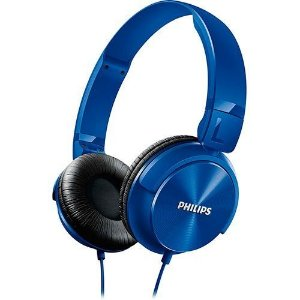 Fone de Ouvido Philips SHL3060BL/00 - Azul